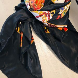 Accessories - Silk scarf made in Paris France ..💋